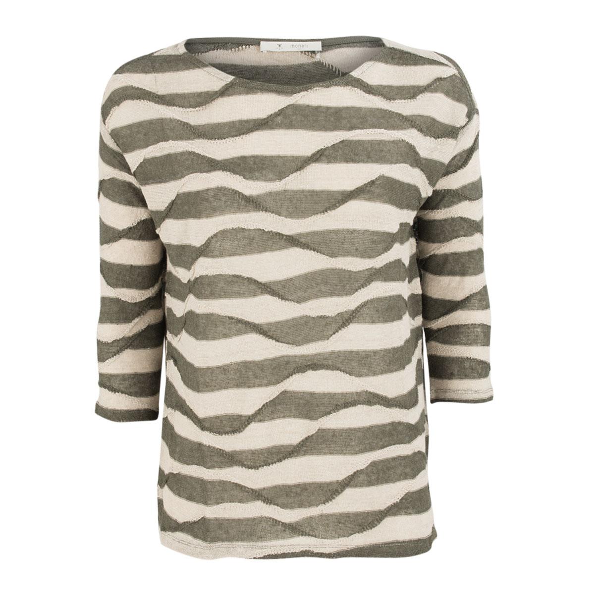 Pullover - Regular Fit - Leinen