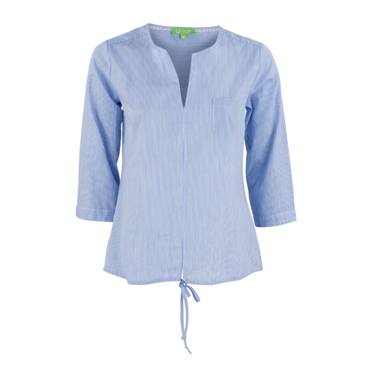 Bluse - Regular Fit - Stripes
