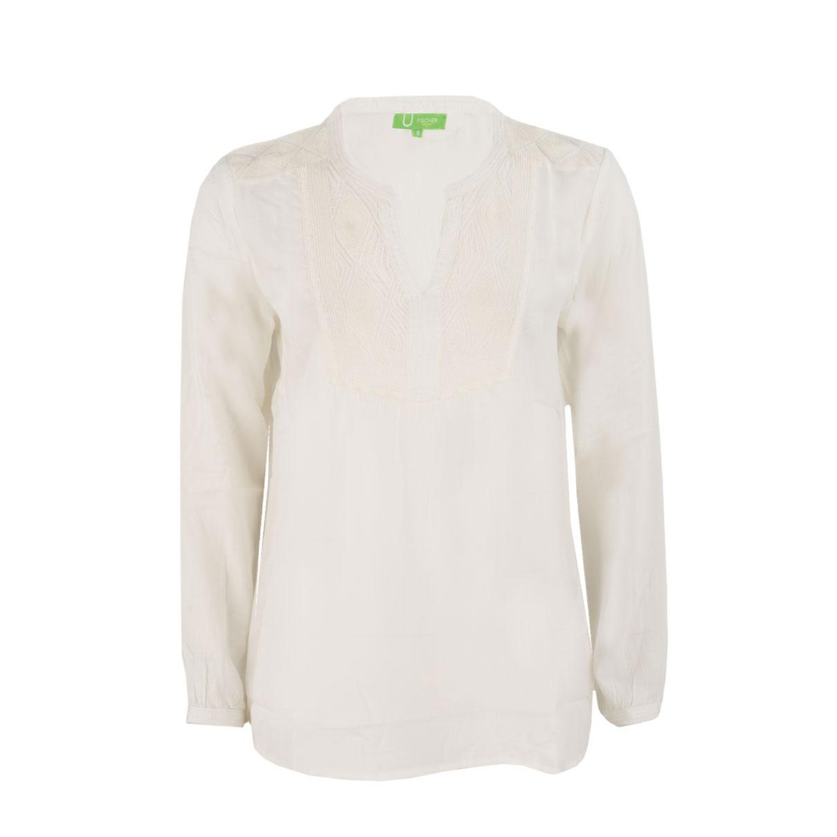 Bluse - Regular Fit - Stitching