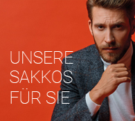 Sakkos für Herren online im Shop bei meinfischer.de kaufen