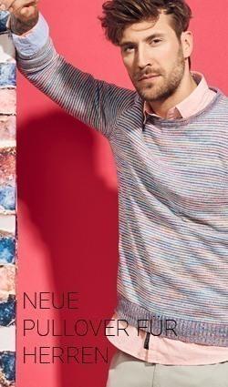 Aktuelle Herren Pullover im meinfischer.de Online Shop kaufen