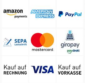 payment methods in meinfischer.de