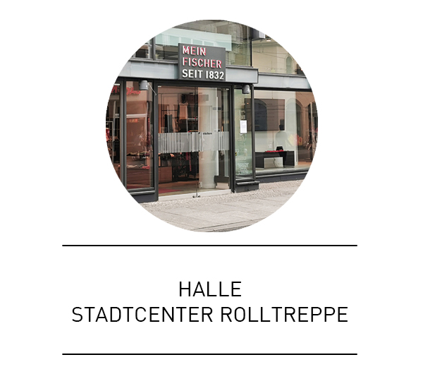 Halle Stadtcenter Rolltreppe
